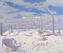 The Schwaben Redoubt by_William_Orpen_(1917)
