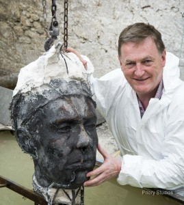 William Orpen's bronze head